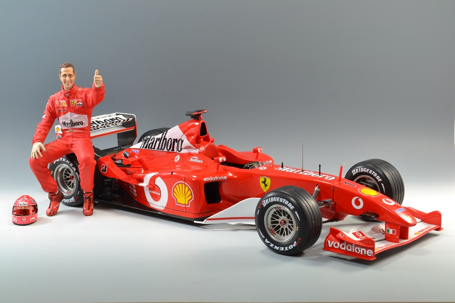 1 20 F1模型 Pole Position Ferrari フェラーリ F2002